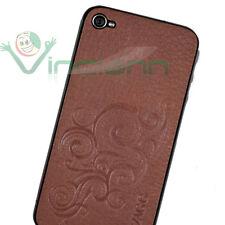 ZAGG Leather Skin vera pelle EMBOSSED T per iPhone 4 4S