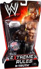 Mattel WWE Basic Series - Extreme Rules R Truth 1 of 1000 with Chair Figure