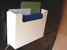 Van Document Paperwork Holder Racking Steel shelving Garage Workshop First Aid