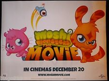 MOSHI MONSTERS THE MOVIE 2013 CINEMA  QUAD POSTER  POPPET KATSUMA