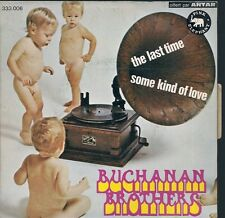 """45 TOURS 7"""" PROMO--BUCHANAN BROTHERS--THE LAST TIME / SOME KIND OF LOVE--1970"""