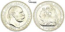 PRAGER: Österreich, Franz Josef., 5 Kronn 1907, Krönung [1081]