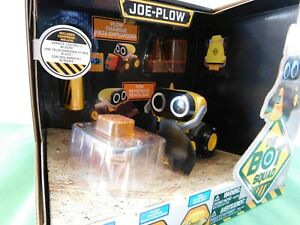 The Bot Squad Joe Plow 50+ Sounds & Phrases Remote Control Blocks Eyes Light-up