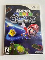 Super Mario Galaxy (Nintendo Wii, 2007) Complete in Box, Tested, Working