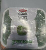 OXO Good Grips Greensaver Produce Keeper w/ Carbon Filter - Green - 4.3 qt / 4 L