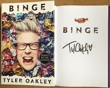 Binge By Tyler Oakley Signed First Edition LGBTQ+ Voice On Youtube