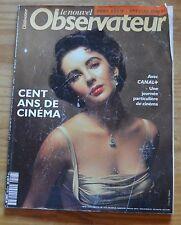 Revue hors-série Le Nouvel Observateur, 100 ans de cinéma, mars 1995