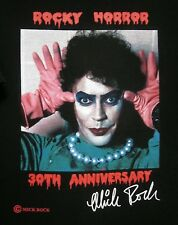 ROCKY HORROR PICTURE SHOW logo tee XL Mick Rock photography T-shirt Tim Curry