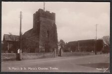 Suffolk -  TRIMLEY, St Mary's & St Martins Churches - Real Photo