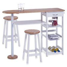 Zeller 13776 - barra para cocina con 2 taburetes (tablero dm mesa 118 X 38 ...