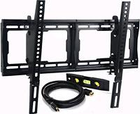 "Mounts Tilt TV Wall Mount Bracket for Most 23""- 75"" Samsung, Sony, Vi"