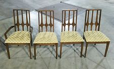 Set of (4) Broyhill Brasilia Walnut Dining Chairs *(ASK FOR SHIPPING QUOTE)*