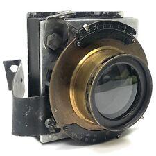 • Wollensak Conley Safety F6 Symmetrical 6 1/2 x 8 1/2 Large Format Camera Lens