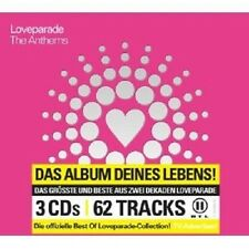 Loveparade-The Anthems 3 CD con Fatboy Slim, ecc. NUOVO