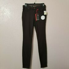 Style Co Women Brown Knit Low Rise Jeggings Jeans Size 4 Skinny