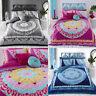 Paisley Mandala Duvet Cover Set King Size Double Single Super King Bedding Quilt