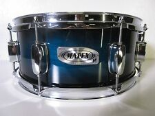 "Mapex M Series Snare Drum - Black Forest Sapphire Lacquer - 14 X 5.5"" - 8 Lugs"