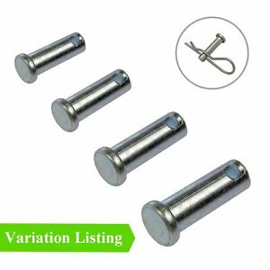 Clevis Pins Metric Securing Fasteners for Retaining R Clips and Split Pins