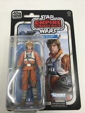 "Star Wars Luke Skywalker Snowspeeder Pilot Black Series 40th 6"" Figure IN STOCK"