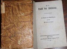 Deutsche antiquarische Bücher als Erstausgabe von 1700-1799