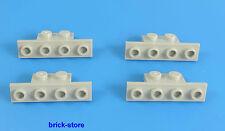 LEGO® / hellgraue/ 1x2-1x4 Winkel Platte / 4 Stück