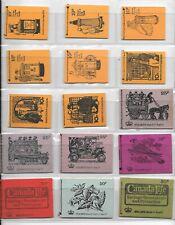 Machin - 15 x decimal stitched booklets -  unmounted mint