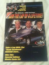 Dale Earnhardt Jr., Steve Park & Michael Waltrip Nabisco Display Poster
