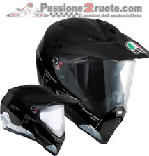 Helmet Motorrad Naked Motard AGV Ax-8 Ax8 Dual Evo Wild Grenze Black Casque Helm