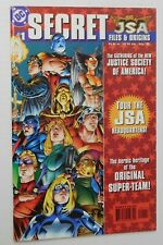 JSA SECRET FILES & ORIGINS #1 - DC 1999 NM Comic