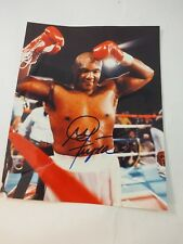 "Authentic George Foreman Autographed Color 8"" x 10"" Photo"