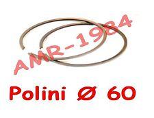 SET 2 SEGMENTI PER PISTONE POLINI KIT APRILIA RS 125 SP ROTAX  Ø 60  KIT 165cc