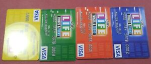 The GAME of LIFE * Twists and Turns - Set of CREDIT CARDS