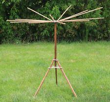 Vintage Wooden Folding Umbrella Drying Rack