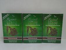 Reshma Henna Powder DARK CHOCOLATE for Hair HERBAL NATURAL Powder - Lot of 3