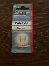MAGLITE Mini Mag Flashlight Bulbs 2 Pack For 2-Cell Flashlights (AA)