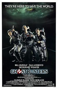 GHOSTBUSTERS (1984) ORIGINAL MOVIE POSTER  -  ROLLED