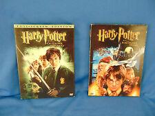 DVD's 2 Harry Potter Sorcerer's Stone & Chamber of Secrets 4 discs full screen