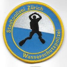 SCHWEIZ TAUCHER ZÜRICH POLIZEI  ,Aufnäher Patch Swiss Police