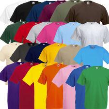 5er / 10er T-Shirt Fruit of the Loom Valueweight Set Tshirt S bis XXL 25 Farben
