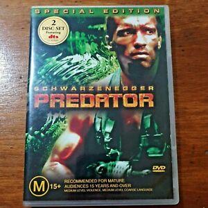 Predator (DVD, 2001) Arnold Schwarzenegger R4 Like New! – FREE POST