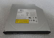 Slim Internal SATA DVD Burner CD/DVD ± RW Drive - Model DS-8A8SH Tested Good