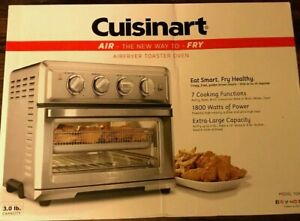 Cuisinart Air Fryer Toaster Oven TOA-60, Brand NEW