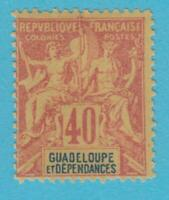 GUADELOUPE 40  MINT HINGED OG *NO FAULTS VERY  FINE !