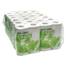 MAXIMA GREEN TOILET ROLL 2-PLY 200 SHEET WHITE CASE x 48 - UKB717