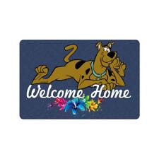 Doormat non slip rubber indoor and outdoor doormat welcome home Scooby Doo