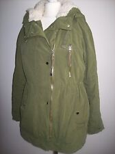 ZARA  PARKA WITH DETACHABLE LINING SIZE L