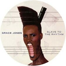 GRACE JONES - SLAVE TO THE RHYTHM (BACK TO BLACK) LIMITED PICTURE  VINYL LP NEUF