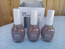 3 G136 Sparkling Stone Broadway Nails Gel Strong Nail Polish