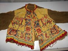 Vintage Cowboy and Indians Outfit Pretend play Indian Shirt Childs RARE