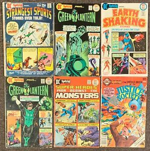 DC Special Presents #13,17,18,20,21,29 Green Lantern Justice Society lot